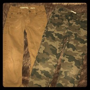 Boys Levi Pants (2) size 7